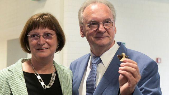 Reiner Haseloff ve eşi Gabriele