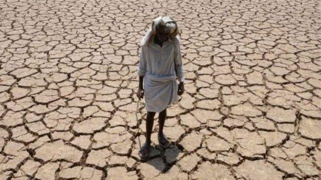 အိန္ဒိယလယ်သမားတွေ အပူရှိန်နဲ့ ခြောက်သွေ့မှုဒဏ် ခံနေရ