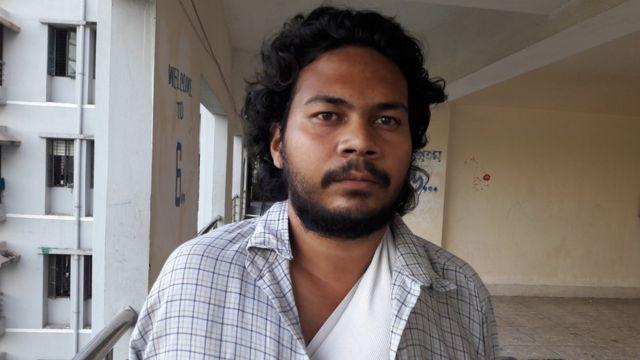 হামলায় আহত আন্দোলনকারী হাসিব মো: আশিক