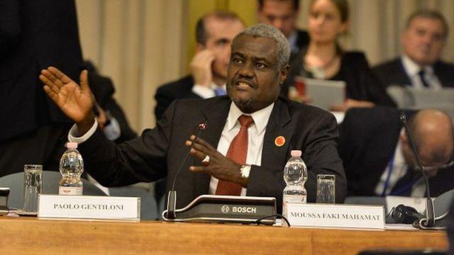 Le nouveau président de la Commission de l'UA, 56 ans, est un fidèle du président tchadien Idriss Déby Itno.