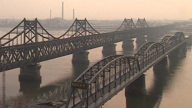 Bridges between China and North Korea