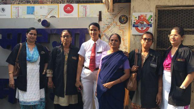 महिला कर्मचारी संचलित माटूंगा रेल्वे स्टेशन