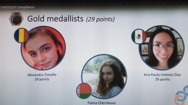 Medalla de oro para Ana Paula Jimenez