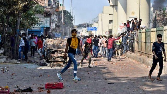 दिल्लीमा हिंसा
