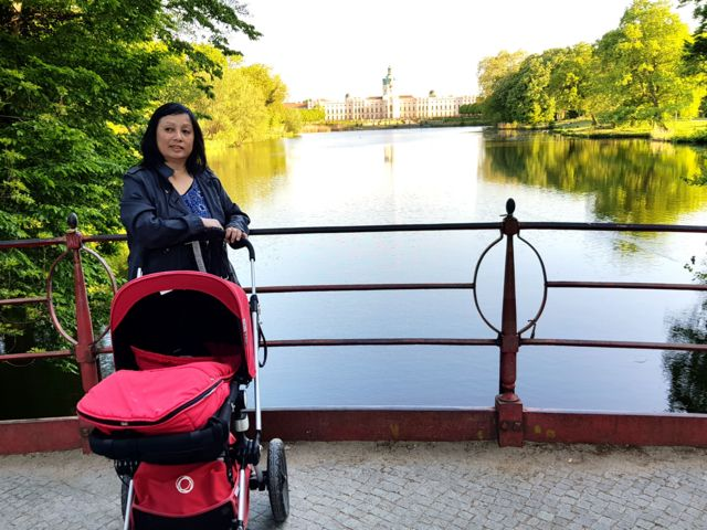 Bà Hoa nói chế độ an sinh xã hội ở Đức rất tốt và người mẹ được tạo mọi điều kiện tốt nhất để nuôi con.