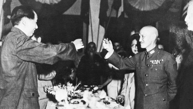 Mao và Tưởng gặp nhau