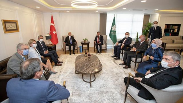 CHP ve Gelecek Partisi heyetleri