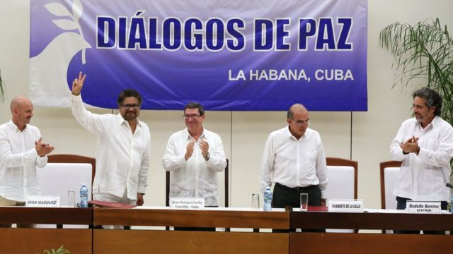 Diálogos de Paz en La Habana, Cuba