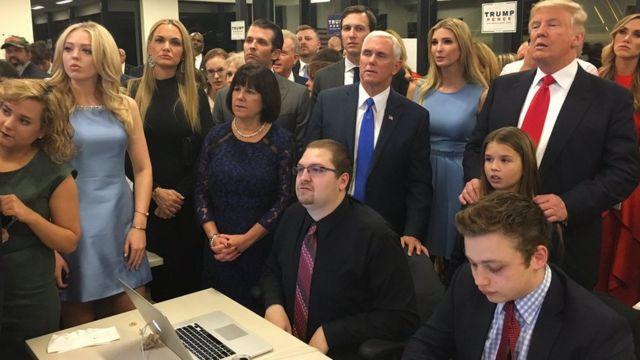 Trump da jama'arsa