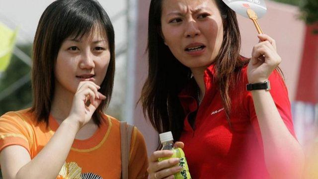 فتيات من الصين