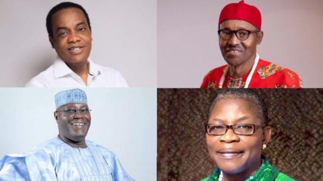 Donald Duke, Muhammadu Buhari, Atiku Abubakar, Oby Ezekwesili