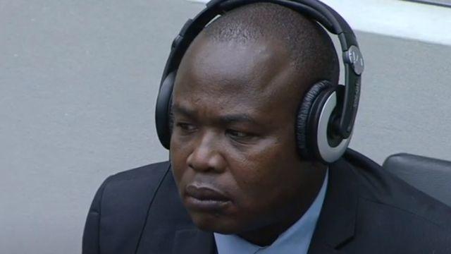 Dominic Ongwen au tribunal en 2020
