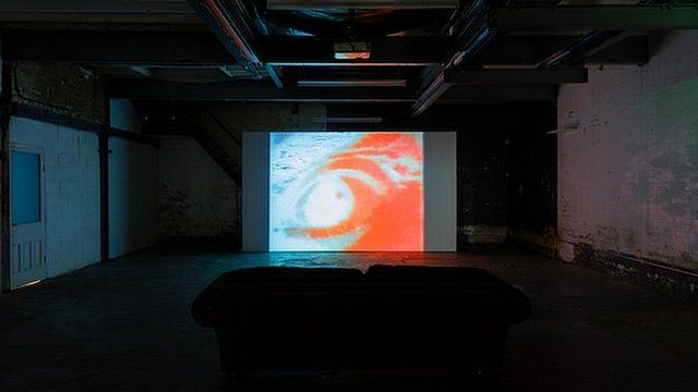 Installation View: Scratch Video at 156 Arundel Street. Courtesy of LUX