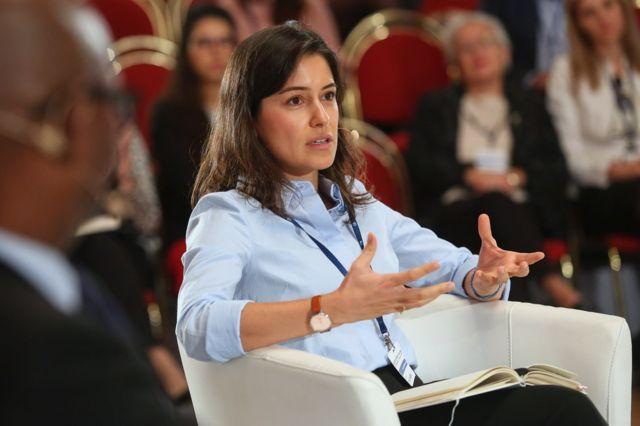 Azerbaycanlı gazeteci Arzu Geybulla