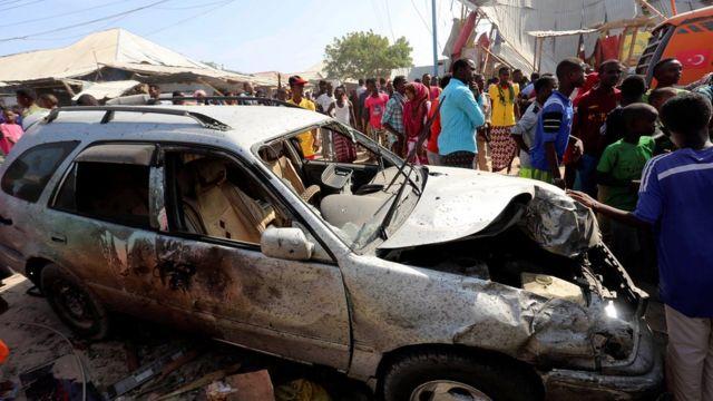 أنحى الرئيس الصومالي باللائمة على جماعة الشباب الإسلامية الصومالية