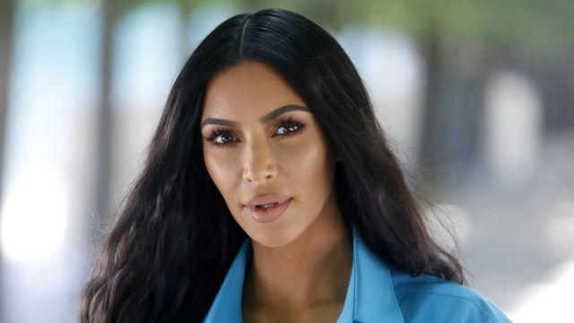 Retrato de Kim Kardashian