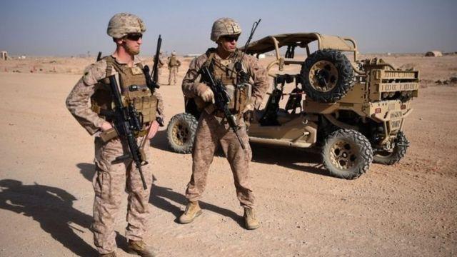 अफगानिस्तानमा अमेरिकी सैनिक