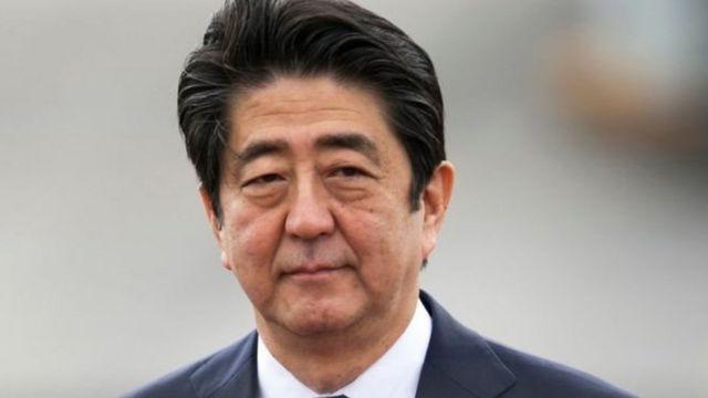 Umushikiranganji wa mbere w'ubuyapani Shinzo Abe
