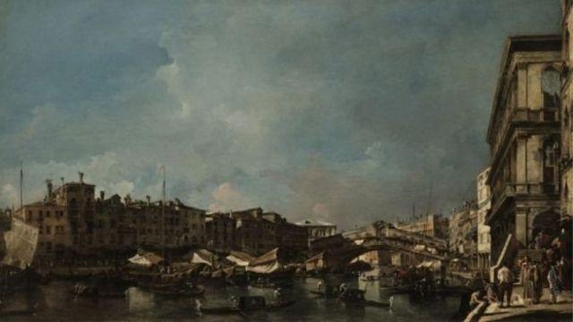 البندقية: نظرة من جسر ريالتو