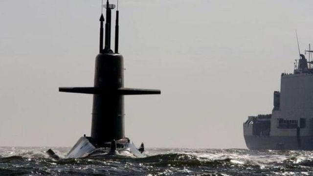 নেদারল্যান্ডস নৌবাহিনীর একটি সাবমেরিন
