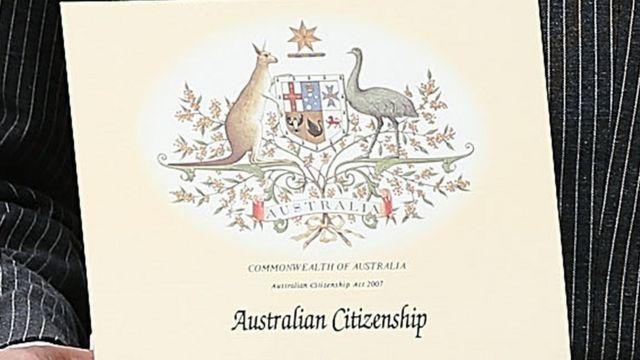 Certificado de ciudadania