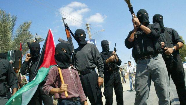 палестинцы во время второй интифады