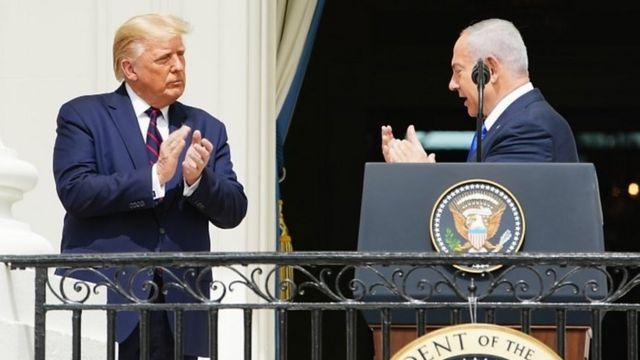 بنیامین نتانیاهو، نخستوزیر اسرائیل در دوران ریاستجمهوری ترامپ از حمایت قوی کاخ سفید برخوردار بوده است