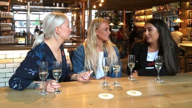Georgie Pilling, Katie Matkin and Sofia Meadowcroft