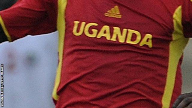 Un joueur de l'équipe national de l'Ouganda