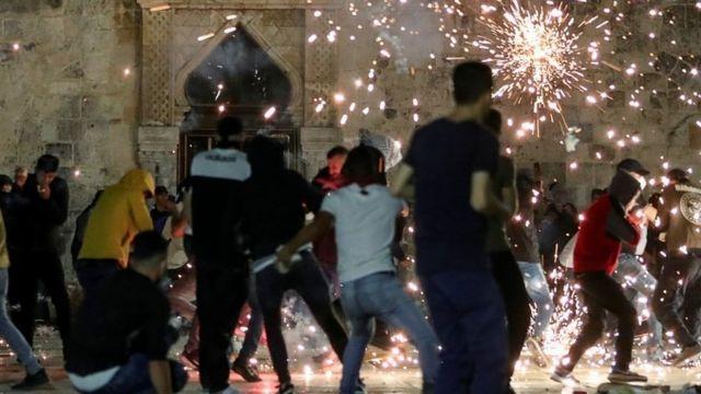 Yaşanan olaylarda en az 205 Filistinli yaralandı.