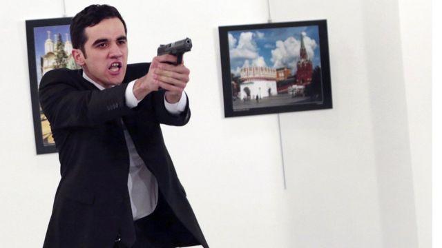 तुर्की में रूसी राजदूत का हत्यारा मेवलुत मेर्त एडिन्टास