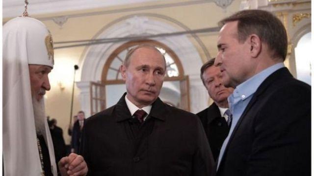 Медведчук в ноябре встретился с Владимиром Путиным и Кириллом