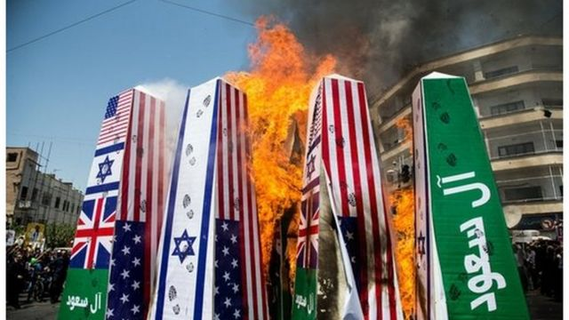 تظاهرات ضد سعودی همچون تظاهرات ضد اسرائیلی و ضد آمریکایی در سال های اخیر در ایران رواج داشته است