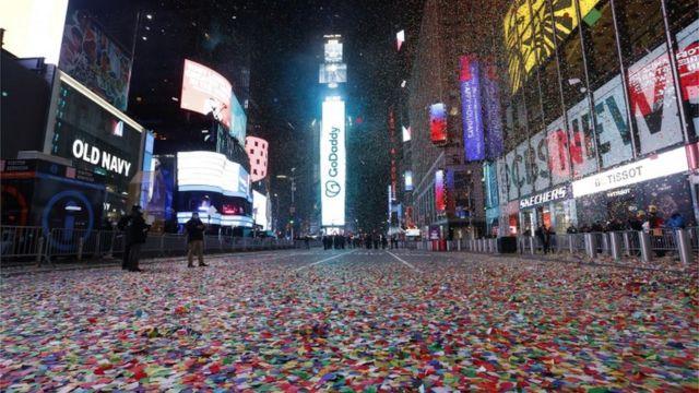 Times Square, en Nueva York.