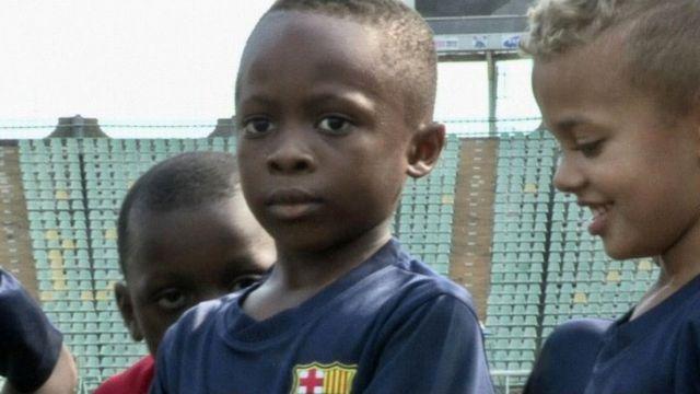 Pupils at FCBescola Lagos in Nigeria