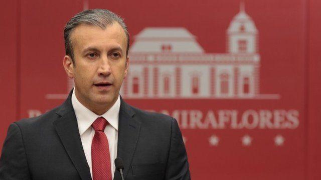 Vicepresidente venezolano de Economía, Tareck el Aissami