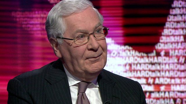Lord King, former governor of the Bank of England
