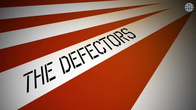 """Sign which reads """"The defectors"""""""