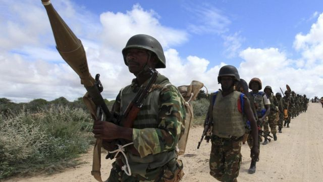 Abasirikare b'u Burundi muri Somaliya