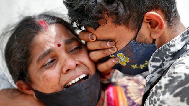 印度四天超百万人确诊,医疗系统瘫痪
