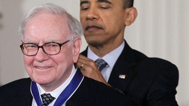 Warren Buffet y Barack Obama