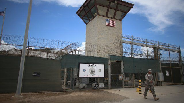 US soldier exiting Guantanamo Bay detention facility