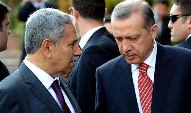Bülent Arınç ve Recep Tayyip Erdoğan