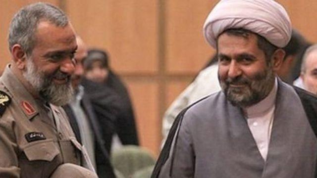 محمدرضا نقدی و حسین طائب