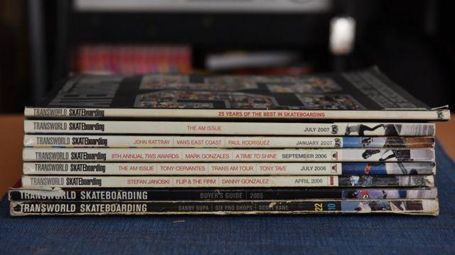 Kolekcija Transworld magazina