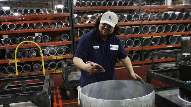 Obrero industrial