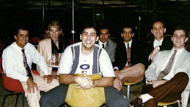 Flavio Augusto y su equipo original.
