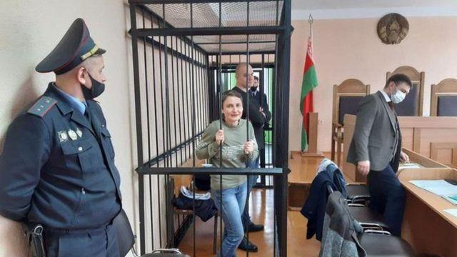 اولگا کلیمکوا و سرگئی اسکوک به جرم تمسخر رییسجمهور گناهکار شناخته شدند