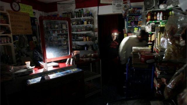 Una tienda sin electricidad en Monterrey