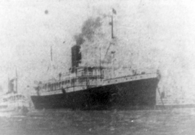 El buque Anselm llegando a Belém, en Brasil